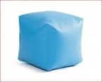 PUF semipiel Azul