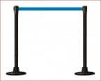 POSTE Separador Catenaria Negro cinta extensible 200 Azul