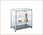 VITRINA Gris Cristal 2 estantes