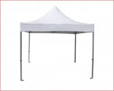 CARPA Plegable 4 aguas Blanco