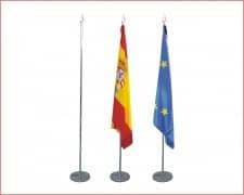 MASTIL Bandera Cromado