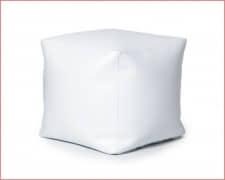 PUF semipiel Blanco