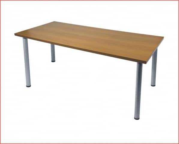mesa rectangular domo gris haya 180